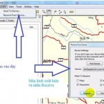 Chuyển dữ liệu từ máy GPS sang máy tính