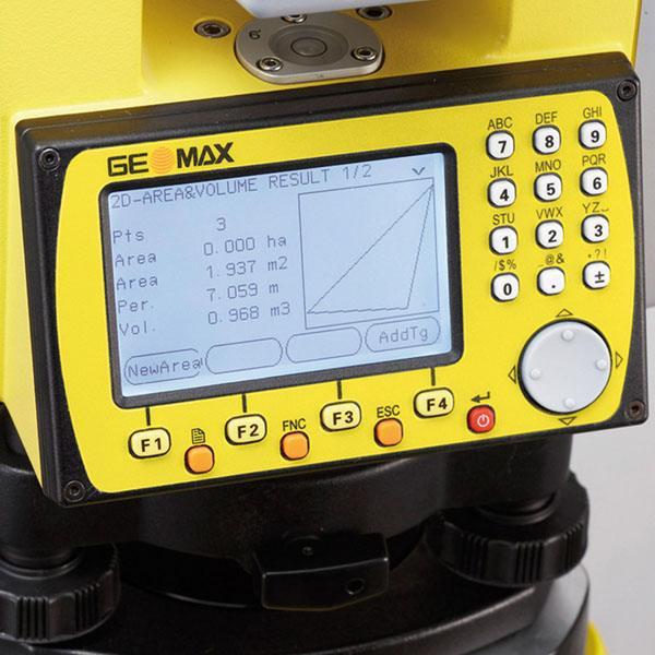 mua máy toàn đạc điện tử geomax zoom 20 pro a4