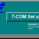 Xử lý số liệu toạ độ trên phần mềm T-com