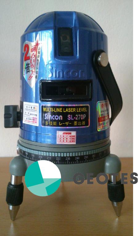 máy thủy bình laser sincon sl270P