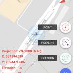 Phần mềm Geosurvey, Phần mềm tìm điểm theo VN2000